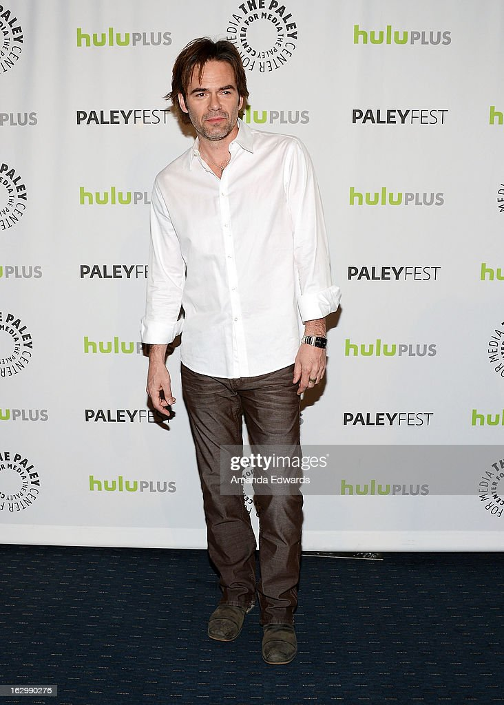 Actor Billy Burke arrives at the 30th Annual PaleyFest: The William S. Paley Television Festival featuring 'Revolution' at Saban Theatre on March 2, 2013 in Beverly Hills, California.