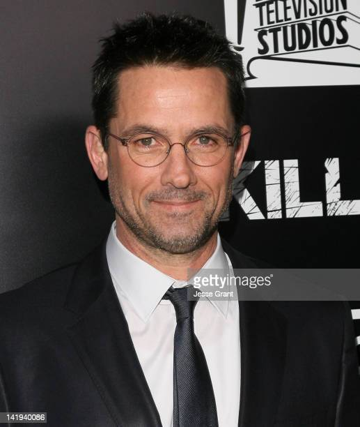 Actor Billy Campbell arrives at AMC's 'The Killing' Season 2 Los Angeles Premiere at ArcLight Cinemas on March 26 2012 in Hollywood California