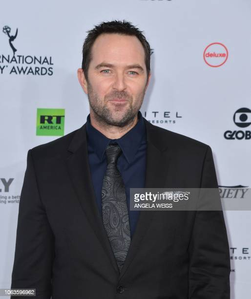 US actor Billy Campbell arrives for the 46th International Emmy awards gala in New York City on November 19 2018 The International Emmy Award is an...