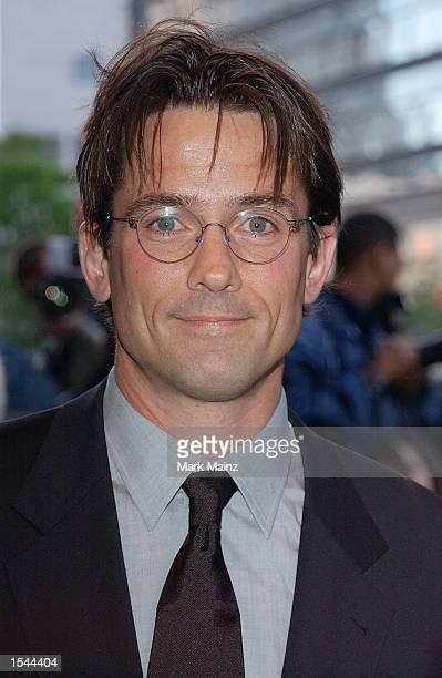 Actor Billy Campbell arrives for the world premiere of Enough May 21 2002 at Loews Lincoln Square Theatre in New York City