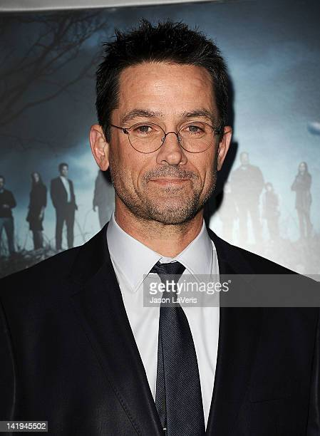 Actor Billy Campbell attends the season 2 premiere of AMC's The Killing at ArcLight Cinemas on March 26 2012 in Hollywood California