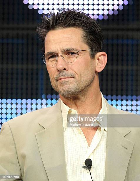 Actor Billy Campbell of show The Killing attends the AMC Winter 2011 TCA Panel at the Langham Hotel on January 7 2011 in Pasadena California