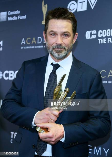 Actor Billy Campbell poses at the 2019 Canadian Screen Awards Broadcast Gala held at Sony Centre for the Performing Arts on March 31 2019 in Toronto...