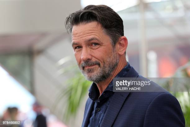 US actor Billy Campbell poses during a photocall for the TV show Cardinal as part of the 58nd MonteCarlo Television Festival on June 19 2018 in Monaco