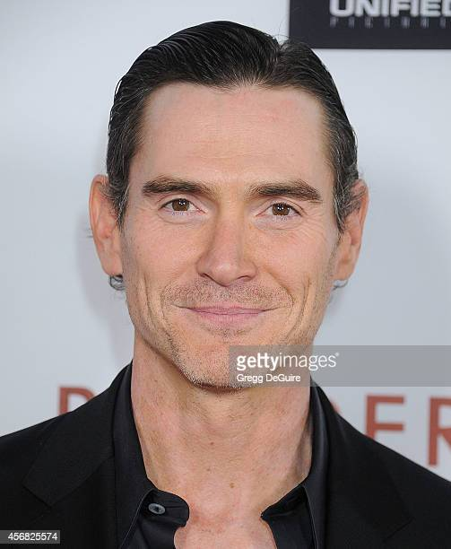 """Actor Billy Crudup arrives at the Los Angeles VIP Screening of """"Rudderless"""" at the Vista Theatre on October 7, 2014 in Los Angeles, California."""