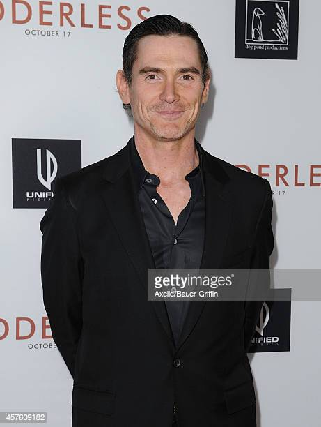 Actor Billy Crudup arrives at the Los Angeles VIP Screening of 'Rudderless' at the Vista Theatre on October 7 2014 in Los Angeles California
