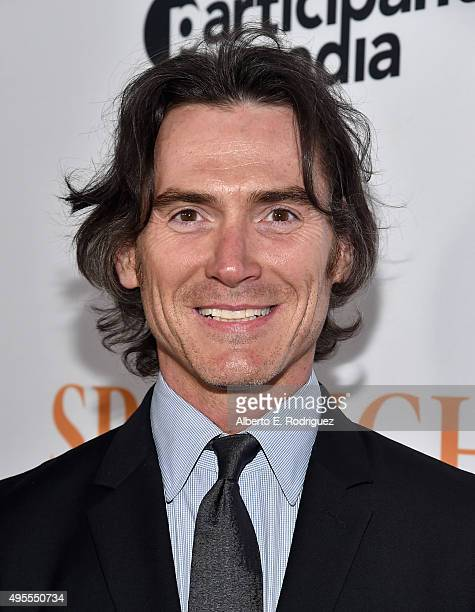 Actor Billy Crudup attends a special screening of Open Road Films' Spotlight at The DGA Theater on November 3 2015 in Los Angeles California