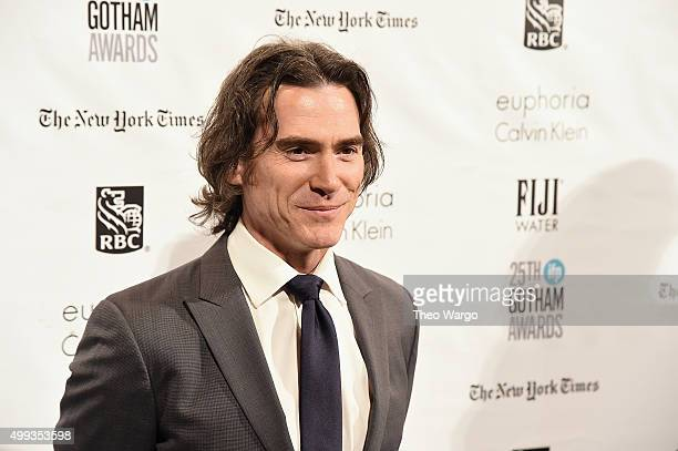 Actor Billy Crudup attends the 25th Annual Gotham Independent Film Awards at Cipriani Wall Street on November 30 2015 in New York City