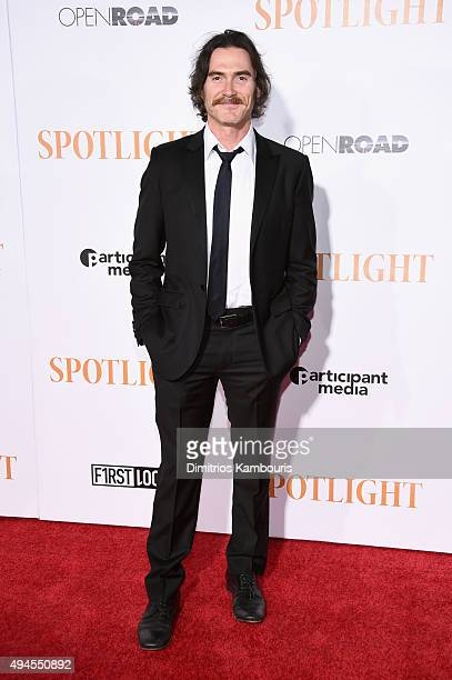 Actor Billy Crudup attends the Spotlight New York premiere at Ziegfeld Theater on October 27 2015 in New York City