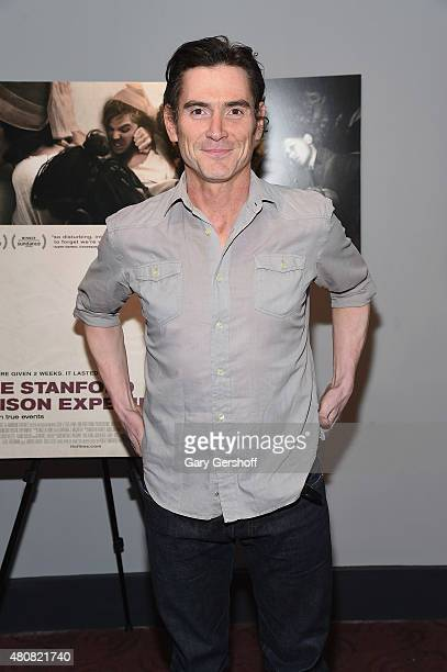 Actor Billy Crudup attends The Stanford Prison Experiment New York Premiere at Chelsea Bow Tie Cinemas on July 15 2015 in New York City