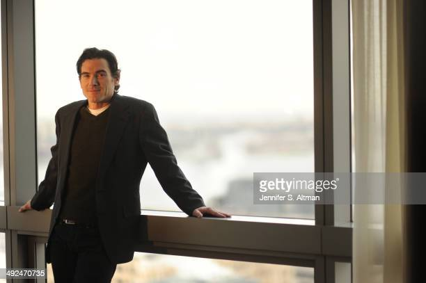Actor Billy Crudup is photographed for Los Angeles Times on March 4, 2014 in New York City.