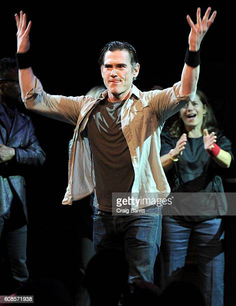 Actor Billy Crudup performs onstage at the Labyrinth Theater Company's Celebrity Charades Gala 2016 at Capitale on September 19 2016 in New York City