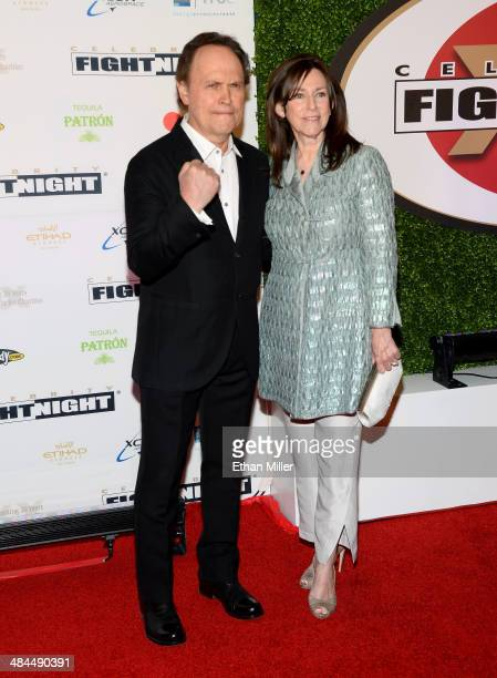 Actor Billy Crystal and Janice Crystal attend Muhammad Ali's Celebrity Fight Night XX held at the JW Marriott Desert Ridge Resort & Spa on April 12,...