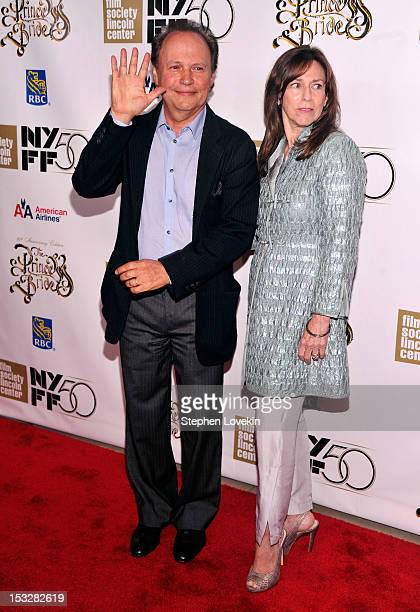Actor Billy Crystal and Janice Crystal attend the 25th anniversary screening cast reunion of The Princess Bride during the 50th New York Film...