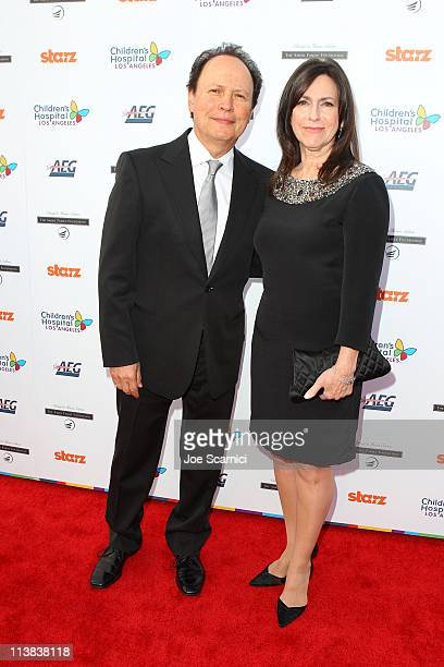 Actor Billy Crystal and wife Janice Crystal arrive at Dream For Kids: Grand Opening Gala supported by AEG and presented by Starz, LLC benefitting...
