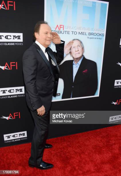 Actor Billy Crystal attends 41st AFI Life Achievement Award Honoring Mel Brooks at Dolby Theatre on June 6, 2013 in Hollywood, California. Special...