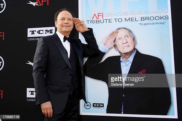 Actor Billy Crystal attends AFI's 41st Life Achievement Award Tribute to Mel Brooks at Dolby Theatre on June 6, 2013 in Hollywood, California.
