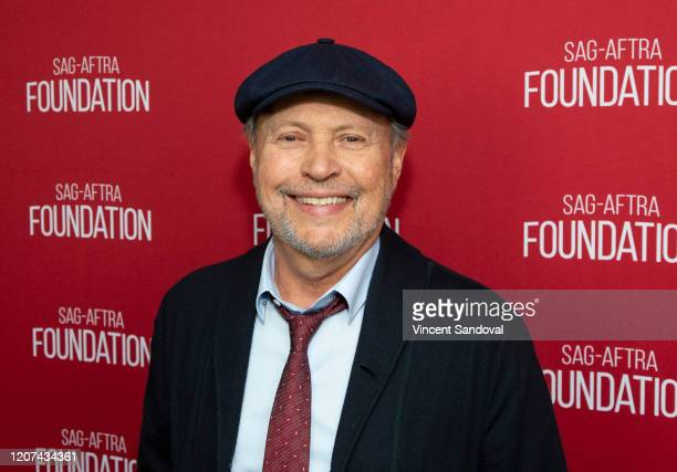 """Actor Billy Crystal attends SAG-AFTRA Foundation Conversations presents """"Standing Up, Falling Down"""" at SAG-AFTRA Foundation Screening Room on..."""