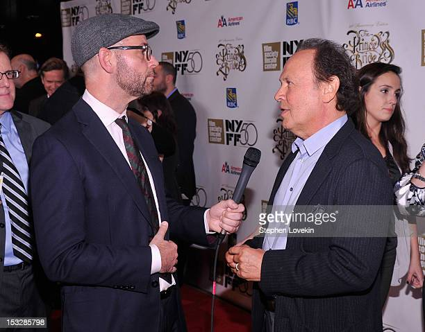 Actor Billy Crystal attends the 25th anniversary screening cast reunion of 'The Princess Bride' during the 50th New York Film Festival at Alice Tully...
