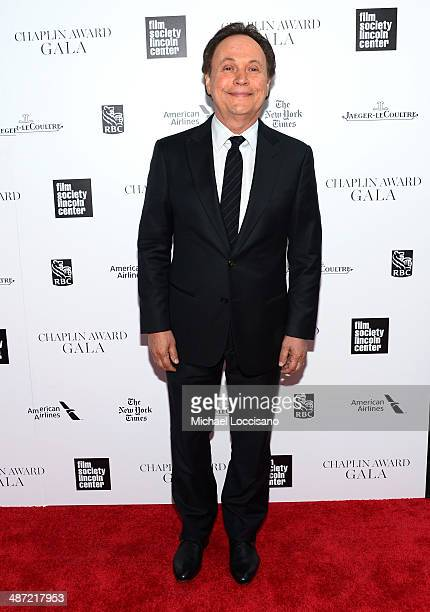 Actor Billy Crystal attends the 41st Annual Chaplin Award Gala at Avery Fisher Hall at Lincoln Center for the Performing Arts on April 28 2014 in New...