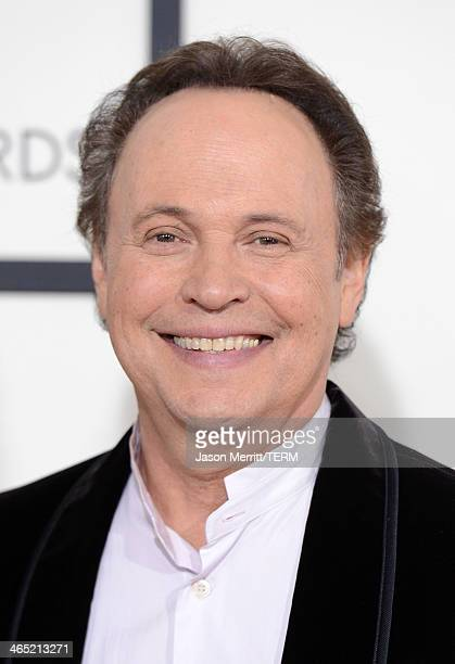 Actor Billy Crystal attends the 56th GRAMMY Awards at Staples Center on January 26 2014 in Los Angeles California