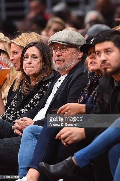 Actor Billy Crystal attends the Brooklyn Nets game LA Clippers on November 14 2016 at STAPLES Center in Los Angeles California NOTE TO USER User...