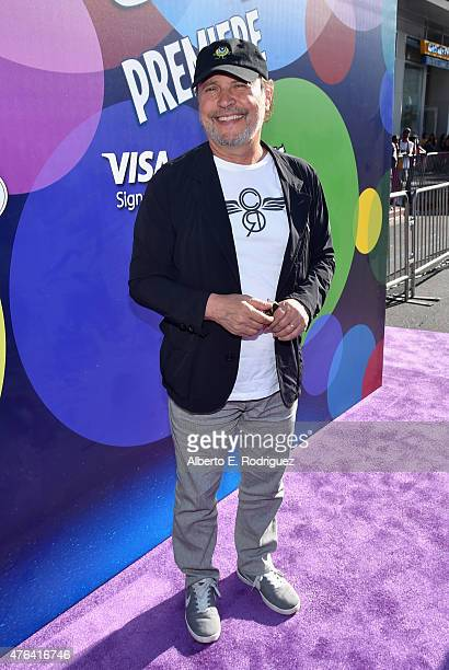 Actor Billy Crystal attends the Los Angeles Premiere and Party for Disney•Pixar's INSIDE OUT at El Capitan Theatre on June 8 2015 in Hollywood...