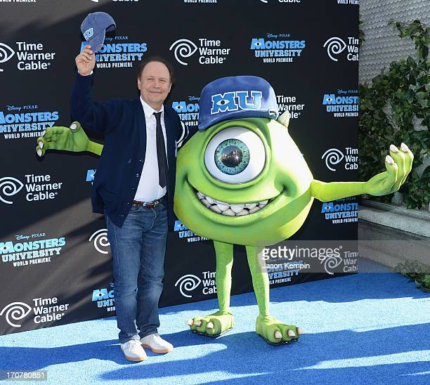 """Actor Billy Crystal attends the premiere of Disney Pixar's """"Monsters University"""" at the El Capitan Theatre on June 17, 2013 in Hollywood, California."""