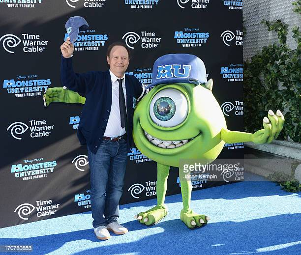 Actor Billy Crystal attends the premiere of Disney Pixar's Monsters University at the El Capitan Theatre on June 17 2013 in Hollywood California