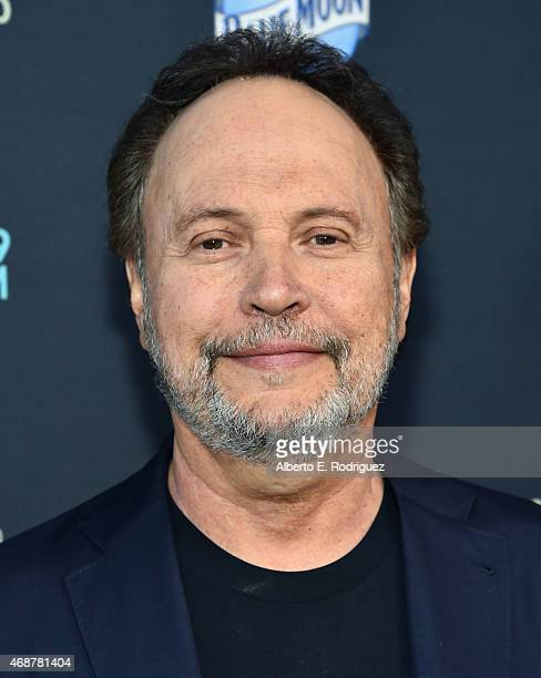 Actor Billy Crystal attends the premiere of FX's 'The Comedians' at The Broad Stage on April 6 2015 in Santa Monica California