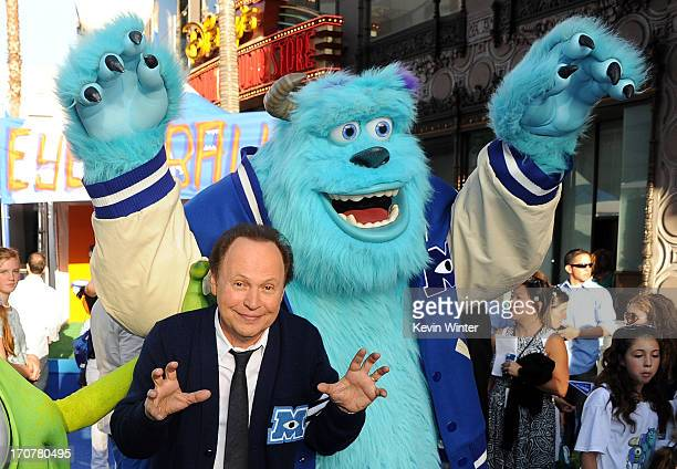 Actor Billy Crystal attends the world premiere of Disney Pixar's Monsters University at the El Capitan Theatre on June 17 2013 in Hollywood California