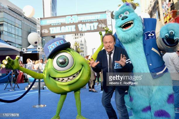 """Actor Billy Crystal attends The World Premiere & Tailgate Party for Disney-Pixar's """"Monsters University"""" at the El Capitan Theatre on June 17, 2013..."""