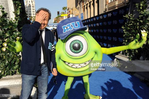 """Actor Billy Crystal attendst the world premiere of Disney Pixar's """"Monsters University"""" at the El Capitan Theatre on June 17, 2013 in Hollywood,..."""