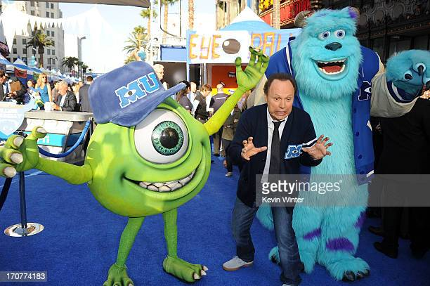 Actor Billy Crystal attendst the world premiere of Disney Pixar's 'Monsters University' at the El Capitan Theatre on June 17 2013 in Hollywood...