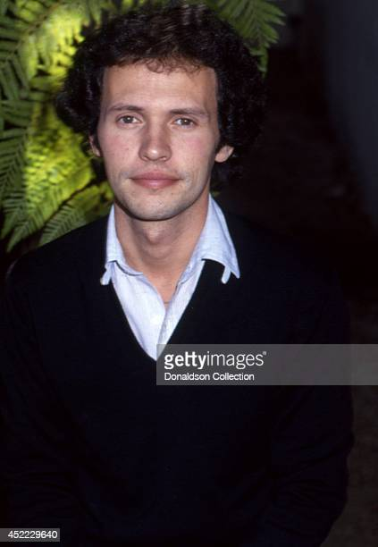 Actor Billy Crystal poses for a portrait session in 1979 in Los Angeles California