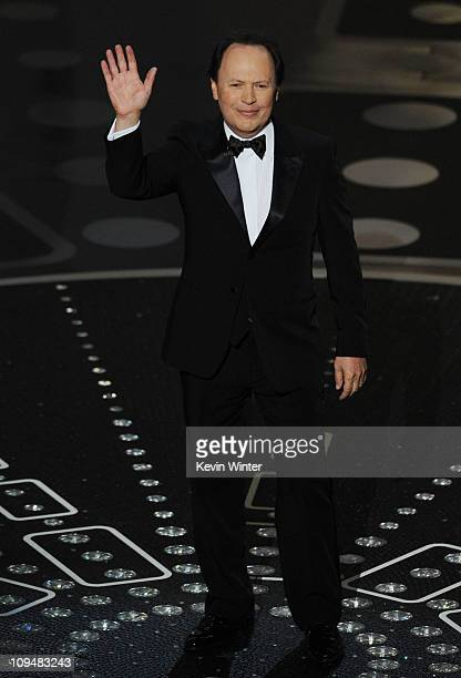 Actor Billy Crystal speaks onstage during the 83rd Annual Academy Awards held at the Kodak Theatre on February 27 2011 in Hollywood California