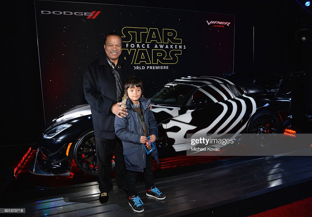 'Star Wars: The Force Awakens' Hollywood Premiere Sponsored By Dodge : News Photo