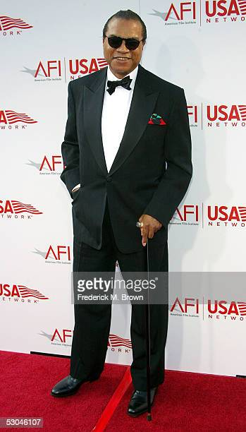 Actor Billy Dee Williams arrives at the 33rd AFI Life Achievement Award tribute to George Lucas at the Kodak Theatre on June 9 2005 in Hollywood...