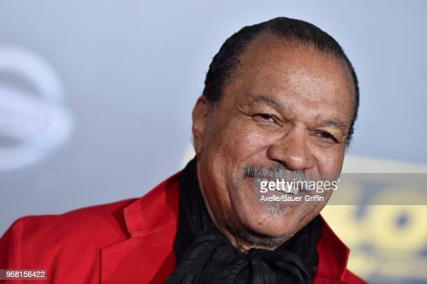 Actor Billy Dee Williams arrives at the premiere of Disney Pictures and Lucasfilm's 'Solo A Star Wars Story' at the El Capitan Theatre on May 10 2018...