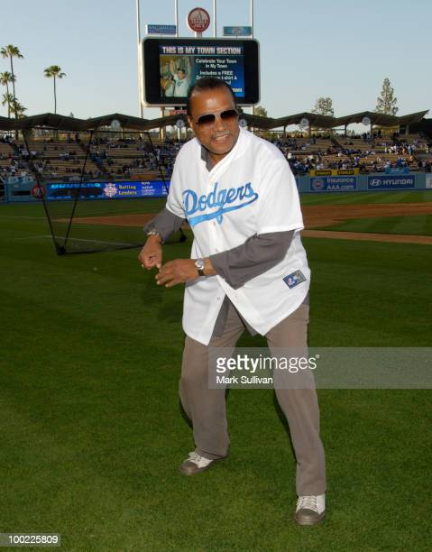 Actor Billy Dee Williams attends the 30th anniversary of The Empire Strikes Back during Dodgertown A Galaxy Far Far Away at Dodger Stadium on May 21...
