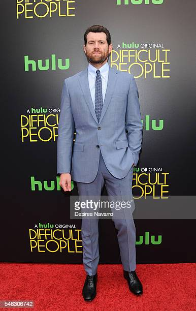 Actor Billy Eichner attends 'Difficult People' New York Premiere at The Metrograph on July 11 2016 in New York City