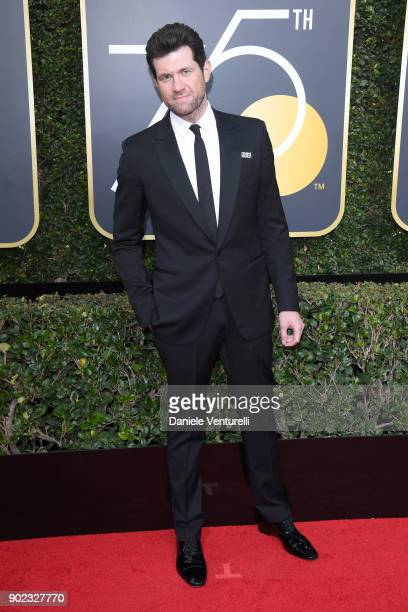 Actor Billy Eichner attends The 75th Annual Golden Globe Awards at The Beverly Hilton Hotel on January 7 2018 in Beverly Hills California