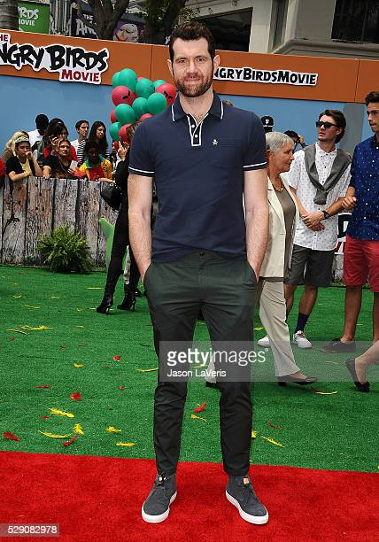 Actor Billy Eichner attends the premiere of 'Angry Birds' at Regency Village Theatre on May 7 2016 in Westwood California