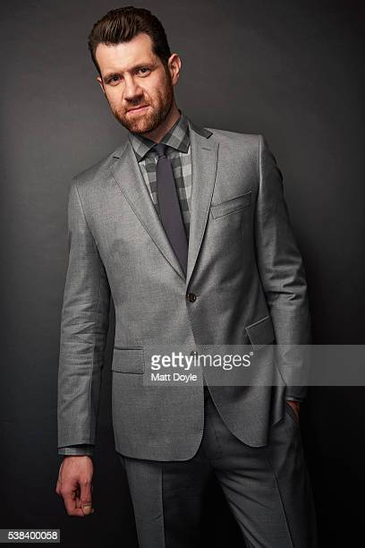 Actor Billy Eichner is photographed at the Hulu UpFront for TV Guide Magazine on May 4 2016 in New York City
