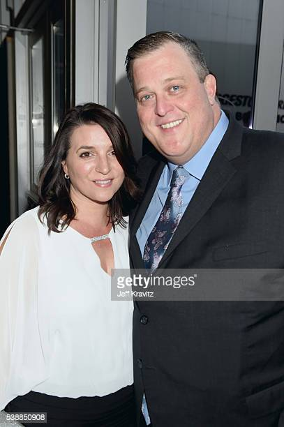Actor Billy Gardell and Patty Gardell attend the 2016 CMT Music awards at the Bridgestone Arena on June 8 2016 in Nashville Tennessee