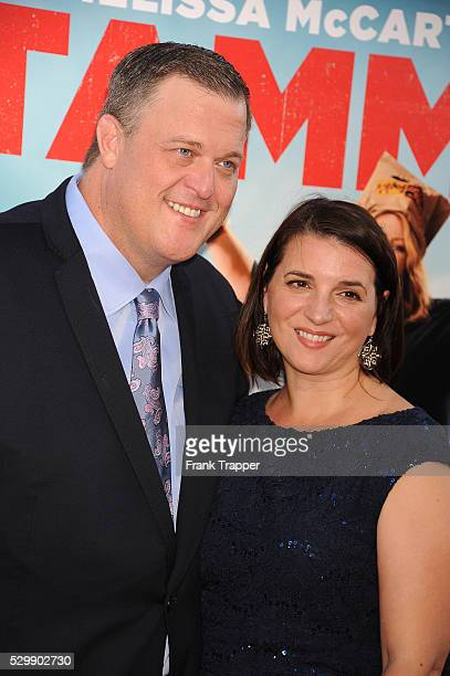 Actor Billy Gardell and wife Patty arrive at the premiere of Tammy held at theTCL Chinese Theater in Hollywood