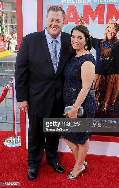 Actor Billy Gardell and wife Patty Gardell arrive at the premiere of Tammy at TCL Chinese Theatre on June 30 2014 in Hollywood California