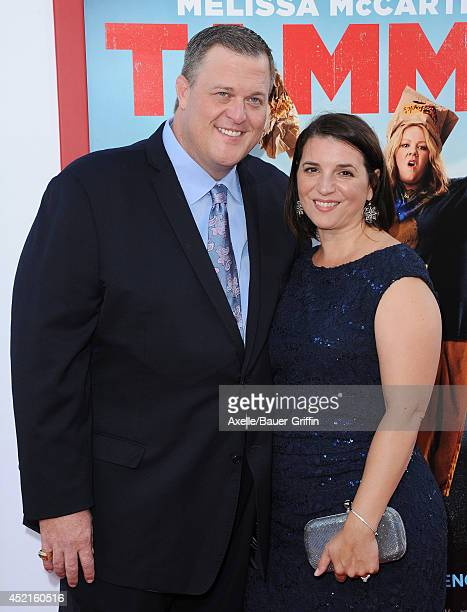 Actor Billy Gardell and wife Patty Gardell arrive at the premiere of 'Tammy' at TCL Chinese Theatre on June 30 2014 in Hollywood California