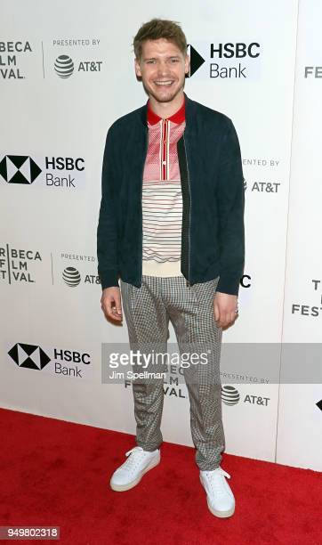 Actor Billy Howle attends the premiere of 'The Seagull' during the 2018 Tribeca Film Festival at BMCC Tribeca PAC on April 21 2018 in New York City
