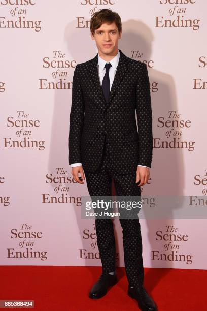 Actor Billy Howle attends The Sense of an Ending UK gala screening on April 6 2017 in London United Kingdom